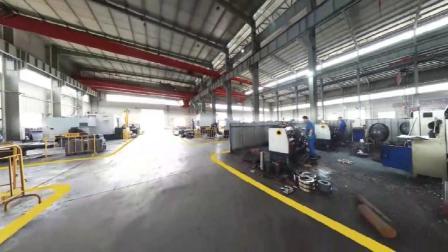 减速机生产车间航拍