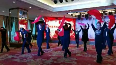 郴州彩虹舞蹈队年终汇演            舞蹈~不说话
