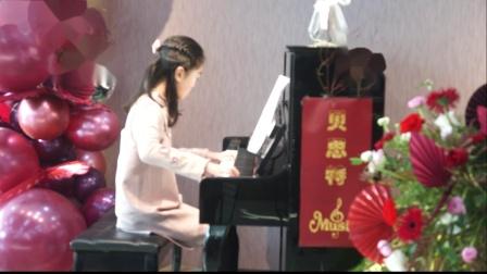 10、贝思特培训学校2020元旦钢琴音乐会陈姝妍《水草舞》