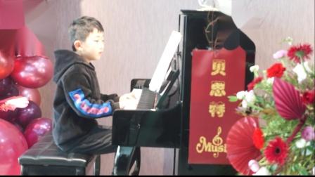 19、贝思特培训学校2020元旦钢琴音乐会张家硕《森林波尔卡》