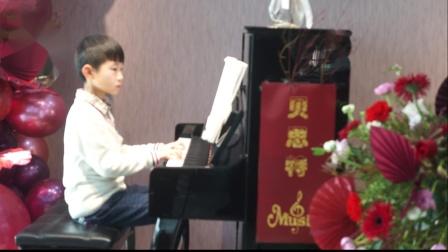 20、贝思特培训学校2020元旦钢琴音乐会郑艺杰《乒乓主题变奏曲》