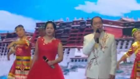 衡水市春晚节目歌伴舞《最美的歌儿献给妈妈》,李左联.闫玉萍演唱!