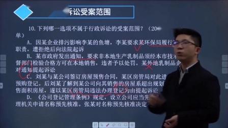 2008-02-44行政法真题讲解-160行政诉讼