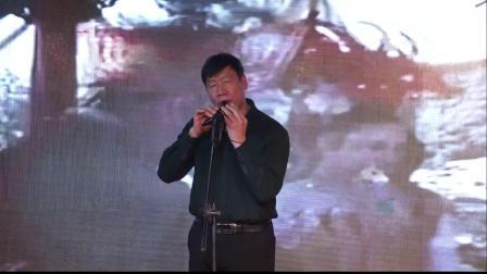 13、新绛县爱心公益联盟2020年会宋石墩表演器乐《女儿情》