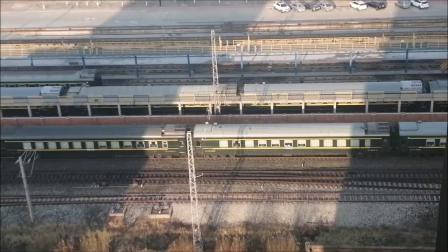 天津站车迷候车室火车视频集35调图后-天津火车