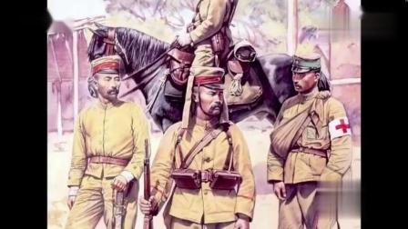 珍贵老视频 二战期间, 日本兵的战斗帽两边的布帘是什么