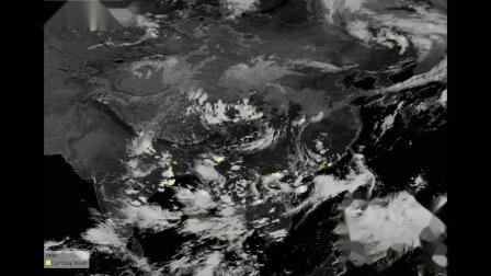 2019年夏秋季闪电监测卫星云图