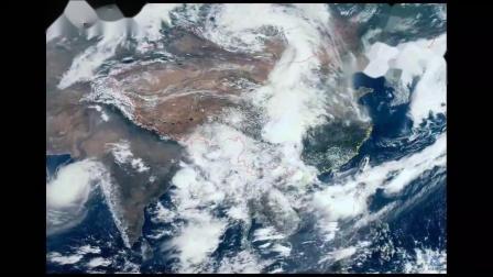 2019年FY4A卫星云图