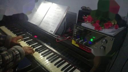 电子琴,红星照我去战斗