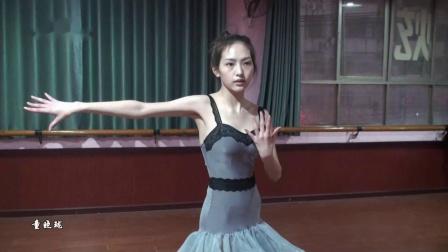 15岁美女童晓珑中国体育舞蹈联合会五级伦巴