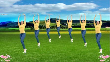 抠像变形舞蹈《爱在左情在右》演示:青青