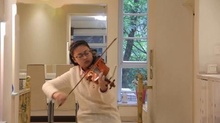 玫瑰变奏曲——孙金晶小提琴  16岁
