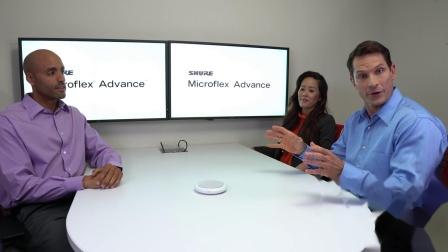 舒尔 Microflex Advance MXA910和MXA310演示