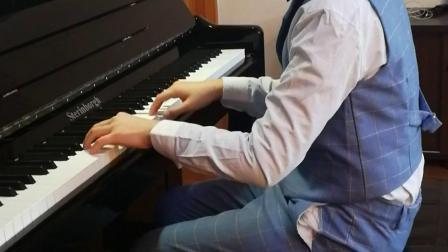 中央音乐学院钢琴业余九级四首连奏 十岁樊子超同学演奏