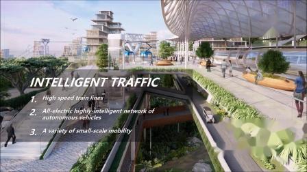 印尼新首都规划设计获胜方案_非静止建筑