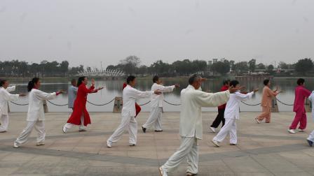 尚新来老师领练传统杨式太极拳85式(下)