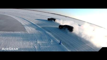 冰雪试驾别克昂科旗