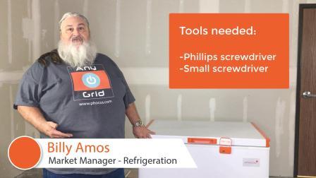 更换Phocos FR系列冷柜的温控器