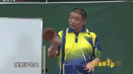 【斯帝卡乒乓课堂】李晓东教你挑打技术