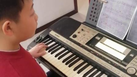 《父亲》电子琴曲