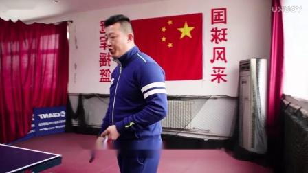 【吴金迪乒乓球教学】横板正手搓球