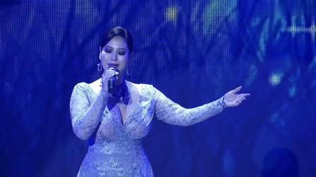 女歌手演唱《鸿雁》