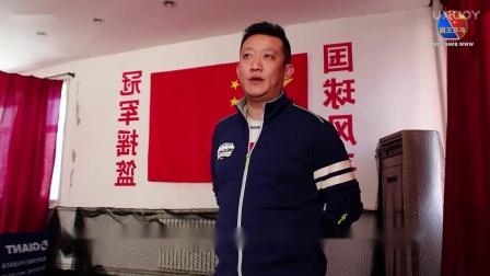 【吴金迪乒乓球教学】第10集:推侧扑步法教学