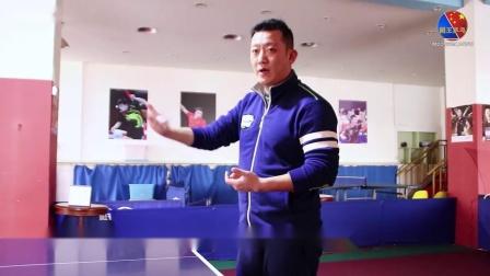 【吴金迪乒乓球教学】第7集:正手两点攻球及滑步教学