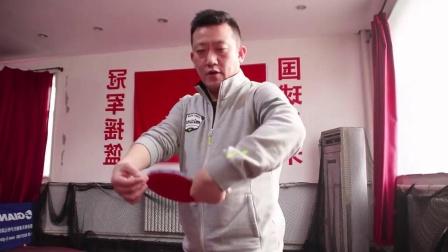 【吴金迪乒乓球教学】第12集:横版反手拉下旋