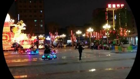 2020春节海丰县城东金山公园夜景