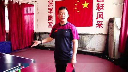 【吴金迪乒乓球教学】第25集:侧身抢冲弧圈球