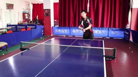 【吴金迪乒乓球教学】正手两点攻常出现的问题