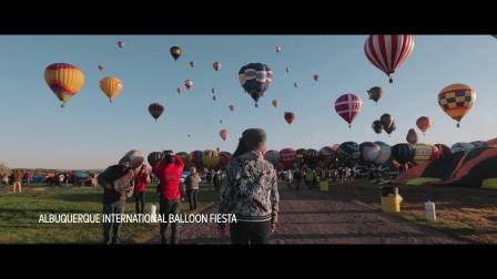 新墨西哥州:阿尔伯肯的热气球节