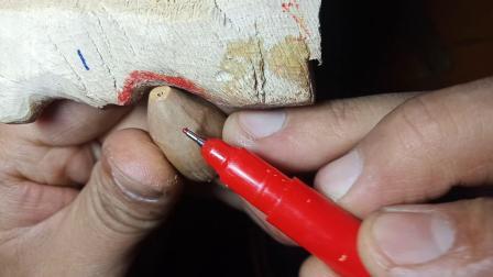 关公雕刻方法第一堂课。