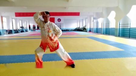 《和式太极拳》八式基本动作练习(编辑、示范:马宜君,制作上传:翰墨愚士)