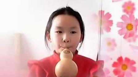 《铃儿响叮当》李紫涵吹奏