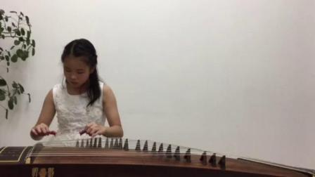 杨涵第六届香港国际音乐节2019总决赛古筝参赛视频