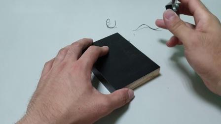 KD 3D涂装木皮版 修边.角线上漆示范
