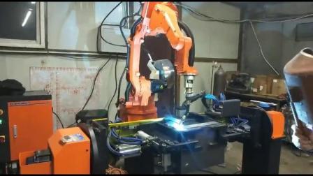 工程车液压站油箱焊接