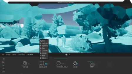 Twinmotion 2020 - 相机参数 - 粘土模型