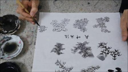湘版教材上册 第三单元  第一课《树木叶子的画法》