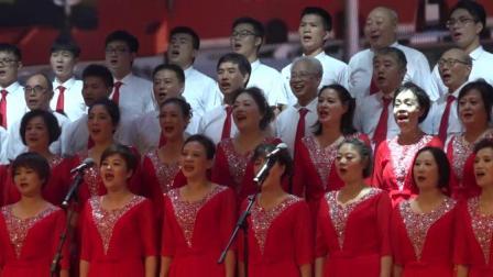 武汉,武汉你不孤单(七一五所夕阳红合唱队演唱)。剪辑视频_202002142101