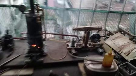 自制锅炉&蒸汽机