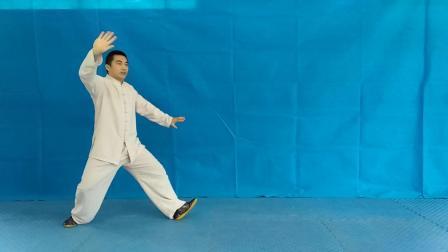 开州四维拳第三十七课 单练24式怀抱琵琶