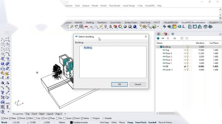 VisualARQ 配合Grasshopper批量生成平面图的方法