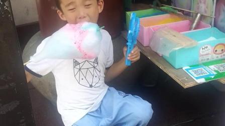 马九吃棉花糖