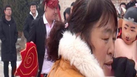 壶关百尺韩庄村闹公婆婚礼场面