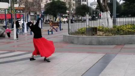 女子单舞探戈