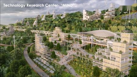 """非静止建筑""""无限之城""""-印度尼西亚新首都智慧城市设计赢得国际竞赛"""