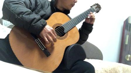 古典吉他     美国林塞的《雨滴》